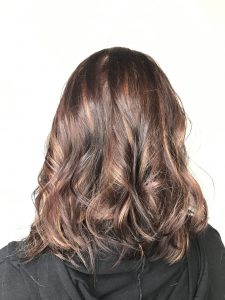 women's hair color and cut.